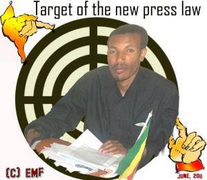 Ethiopian Journalist arrested